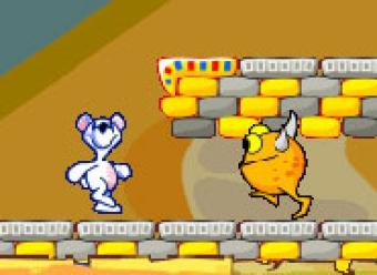 Приключения медвежонка - онлайн игра для девочек.