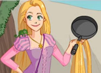 Игры рапунцель прически и одевалки