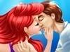 Русалочка Ариель: поцелуи под водой играть