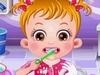 Малышка Хейзел у зубного играть