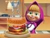 Маша готовит гамбургер играть