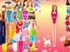 Стильные наряды Барби играть