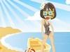 На пляже играть